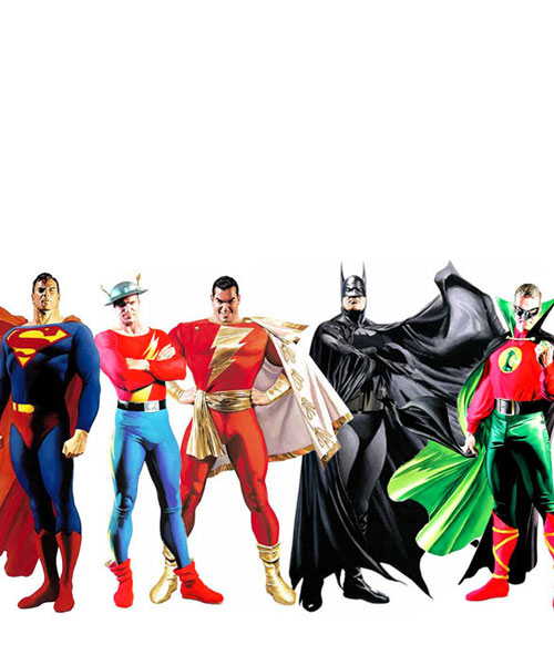 Golden Age Justice League by Alex Ross