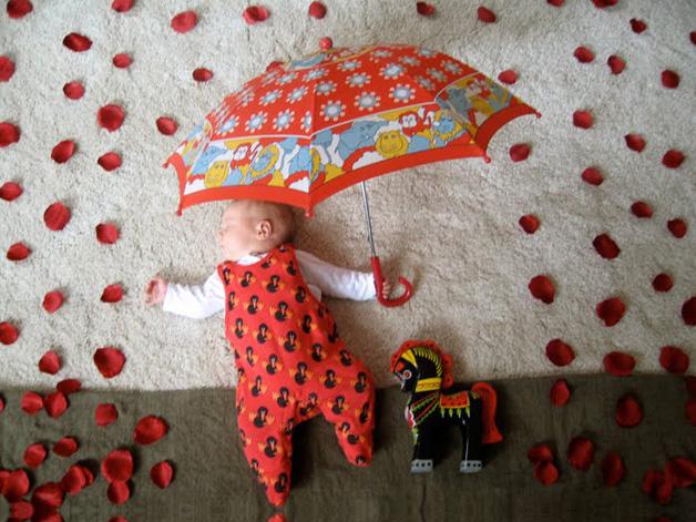 Rain of Roses by Edele Enersen