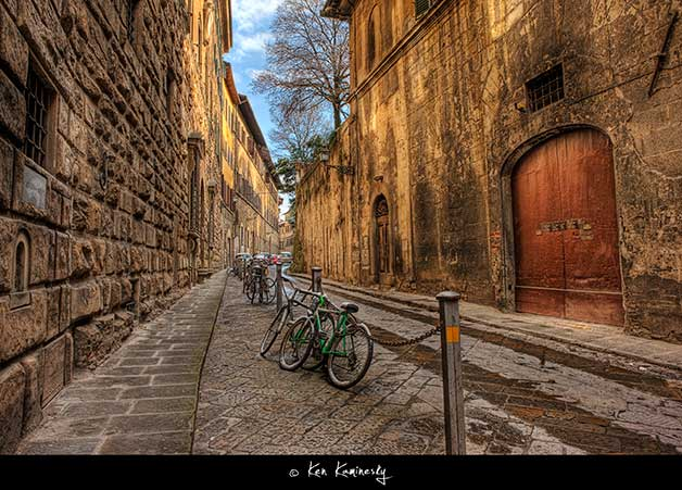 Florence-Via-Costa-dei-Magnoli by Ken Kaminesky