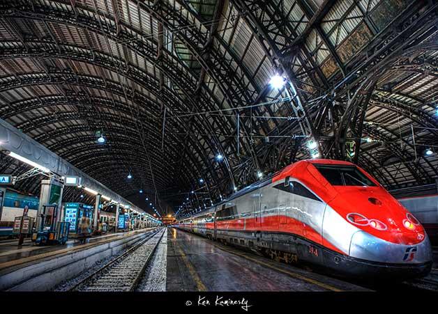 Milano-Centrale-Train-Station by Ken Kaminesky