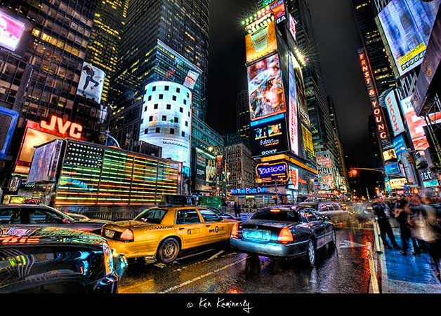 NYC-Times-Square by Ken Kaminesky