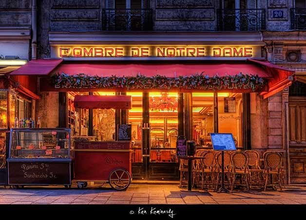 Paris-L'Ombre-de-Notre-Dame by Ken Kaminesky