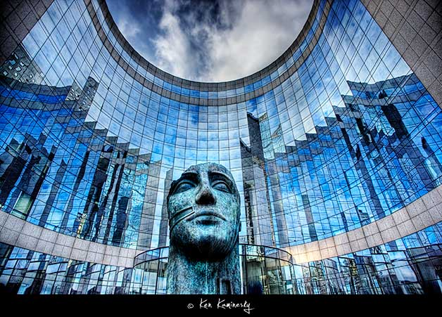 Paris-La-Defense-KPMG-Building by Ken Kaminesky