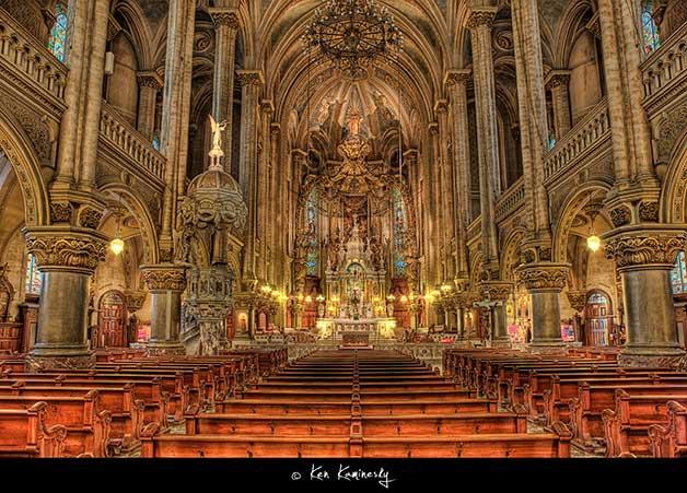 Quebec-City-St.-Jean-Baptiste-Church by Ken Kaminesky