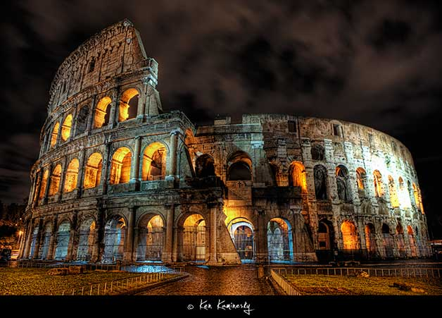 Rome-Colloseum by Ken Kaminesky