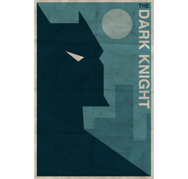 The Dark Knight - DC Heroes