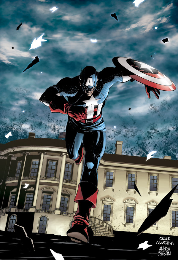 CAPTAIN_AMERICA__White_house_by_ANDREA11179