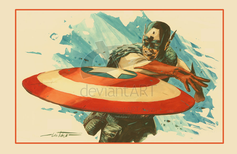 Captain_America_Print_revised_by_mbreitweiser