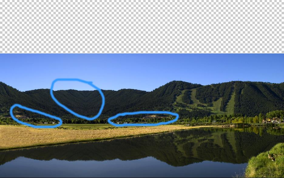 landscape finishing touches