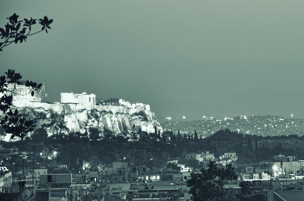 Athens at night | Acropolis